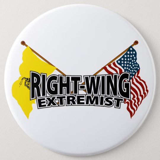 Right Wing Extremist Flags Pinback Button
