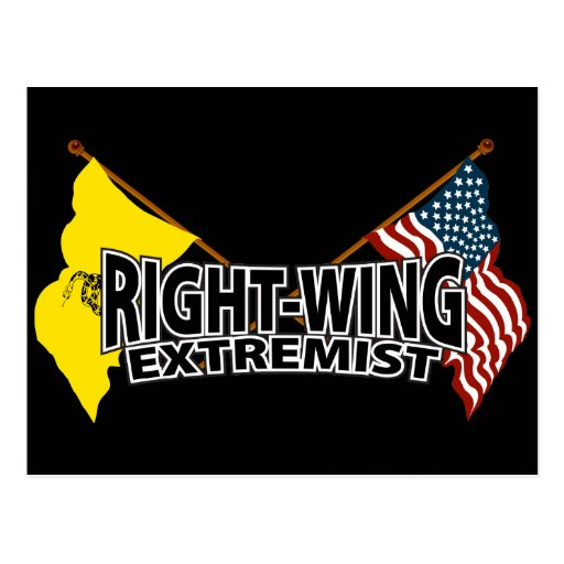 Right Wing Extremist Flags Postcard | Zazzle