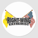 Right Wing Extremist Flags Stickers