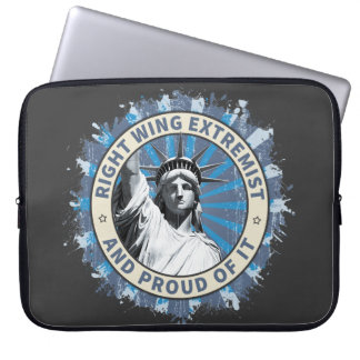 Right Wing Extremist Laptop Sleeve