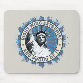 Right Wing Extremist Mouse Pad