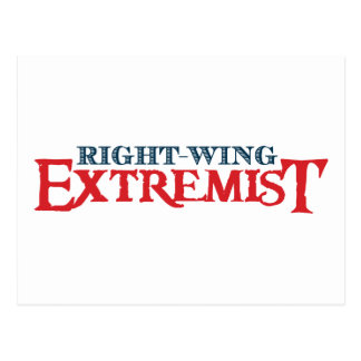 Right-Wing Extremist Postcard