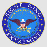 Right Wing Extremist Stickers