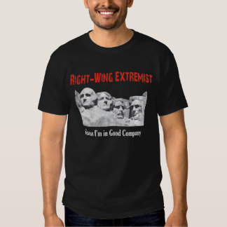 Right Wing Extremist Tee Shirt