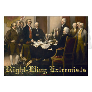 Right-Wing Extremists Card