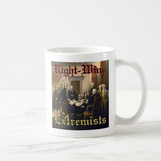 Right-Wing Extremists Classic White Coffee Mug