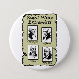 Right Wing Extremists Pinback Button