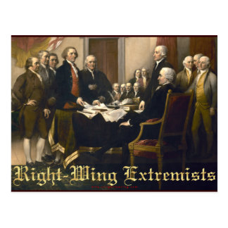 Right-Wing Extremists Postcard