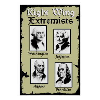 Right Wing Extremists! Poster