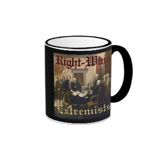 Right-Wing Extremists Ringer Coffee Mug