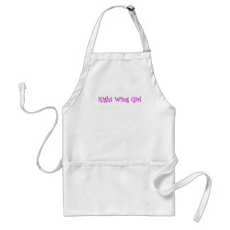 Right Wing Girl Adult Apron