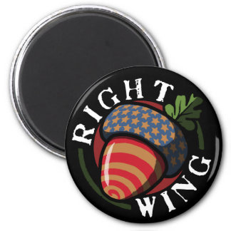 Right Wing Nut Magnet