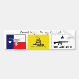 Right Wing Radical Bumper Stickers