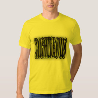 RIGHTEOUS , 1980'S STYLE. T-Shirt