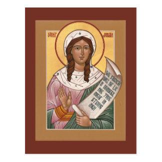 Righteous Judith Prayer Card Postcards