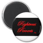 Righteous Perverts Gear Refrigerator Magnet