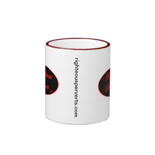Righteous Perverts Gear Ringer Coffee Mug