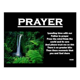 RIGHTEOUS RHYMES - Prayer - Postcard