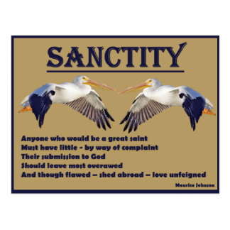 RIGHTEOUS RHYMES - Sanctity Gold - Postcard