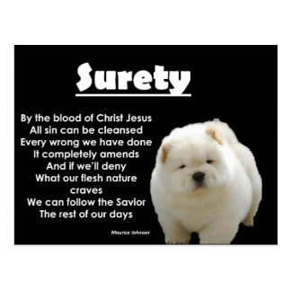 RIGHTEOUS RHYMES - SURETY - Postcard