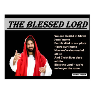 RIGHTEOUS RHYMES - The Blessed Lord - Postcard