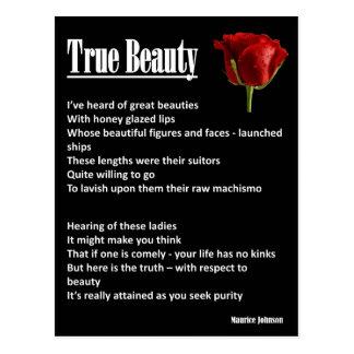 RIGHTEOUS RHYMES - True Beauty - Postcard