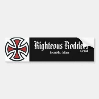 Righteous Rodders C.C. Bumper Sticker