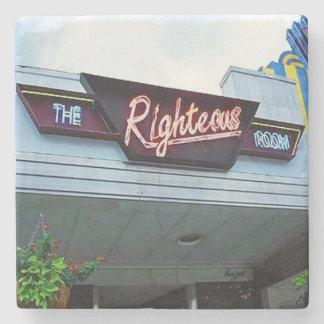 Righteous Room, Poncey Highland, Atlanta Landmark Stone Coaster