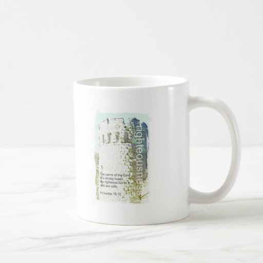 righteousness classic white coffee mug