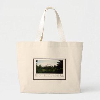 Righteousness Large Tote Bag