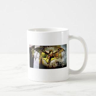 RightOn I believe Classic White Coffee Mug