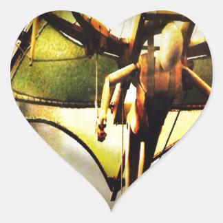 RightOn I believe Heart Sticker