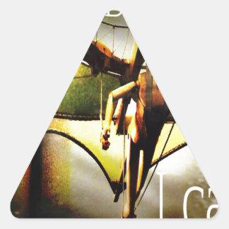 RightOn I believe Triangle Sticker