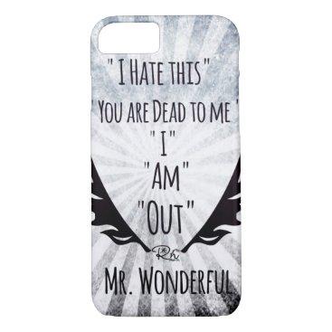 Professional Business RightOn Mr. Wonderful iPhone 7 Case