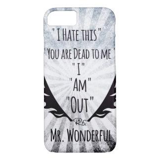 RightOn Mr. Wonderful iPhone 8/7 Case