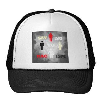 RightOn SayNoToRacism Mesh Hats