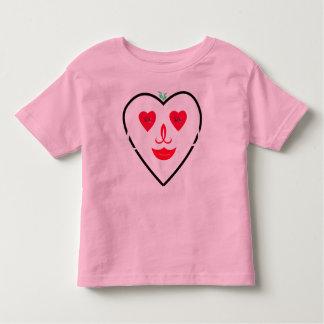 RightOn Smiley Heart Toddler T-shirt