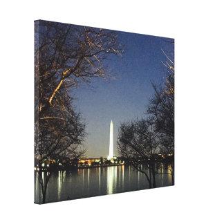 RightOn Washington DC Monument Canvas Print