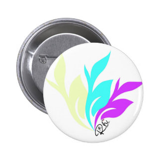 RightOnFloral Button