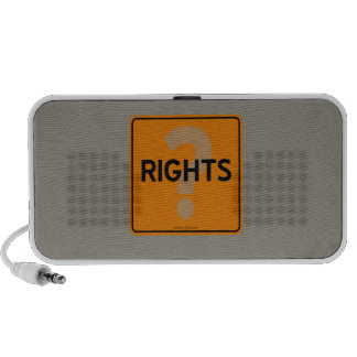 RIGHTS MP3 SPEAKERS
