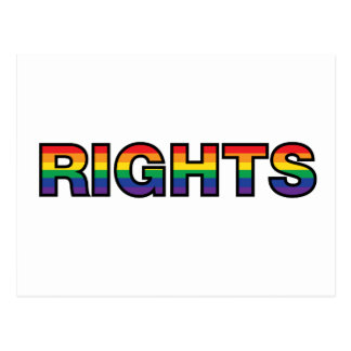 RIGHTS POSTCARD