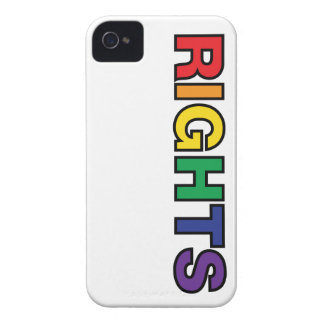 RIGHTS vertical design iPhone 4 Case