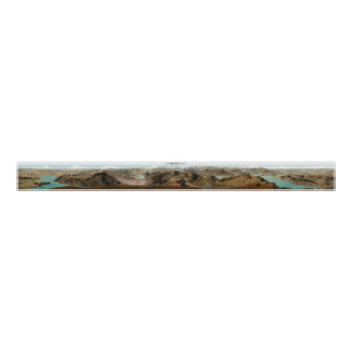 RIGI KULM Swiss Alps Panorama 360° Poster