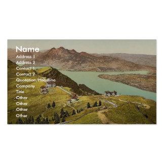 Rigi Staffel and Pilatus, Rigi, Switzerland classi Double-Sided Standard Business Cards (Pack Of 100)