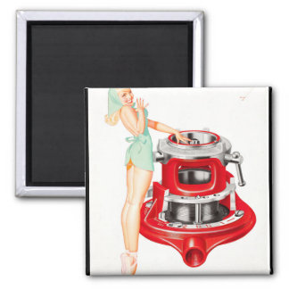 Rigid Tool Pin Up Art Magnet