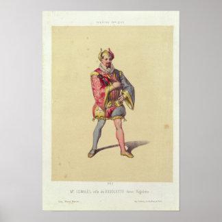 Rigoletto from 'Rigoletto' Poster