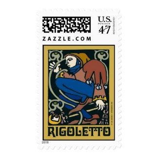 Rigoletto, ópera timbre postal