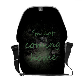 Rigshaw farrowed Not coming home Messenger Bag