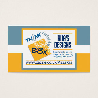 Riia's Designs business cards