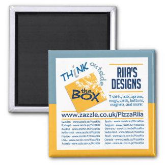 Riia's Designs magnet